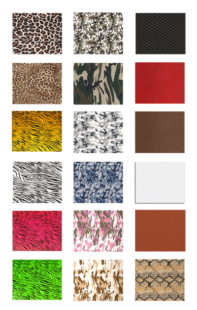 Heat Transfer Vinyl Fashion Prints Army Camo Animal